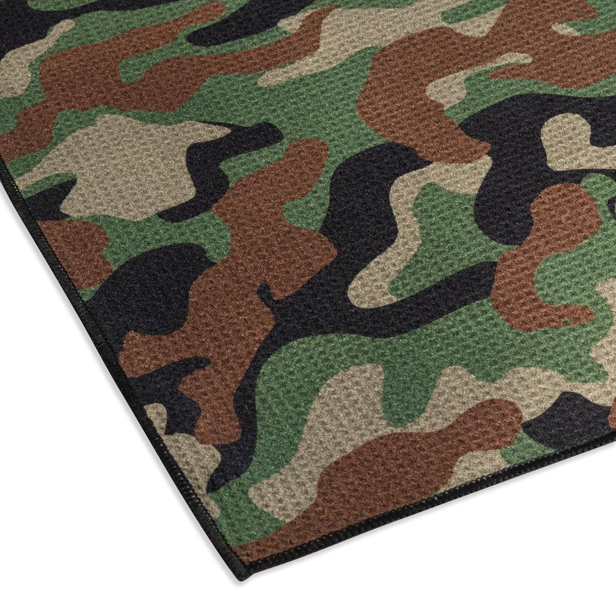 Camo Microfiber Towel