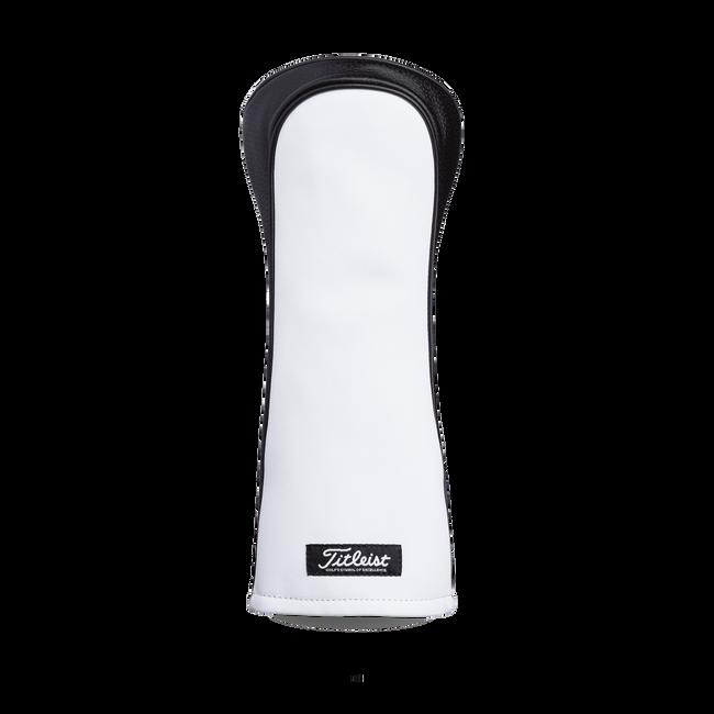 Premium White Leather Headcover