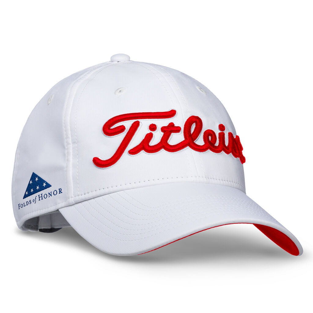 Shop Titleist Folds of Honor Tour Performance Hats  788106f33d9
