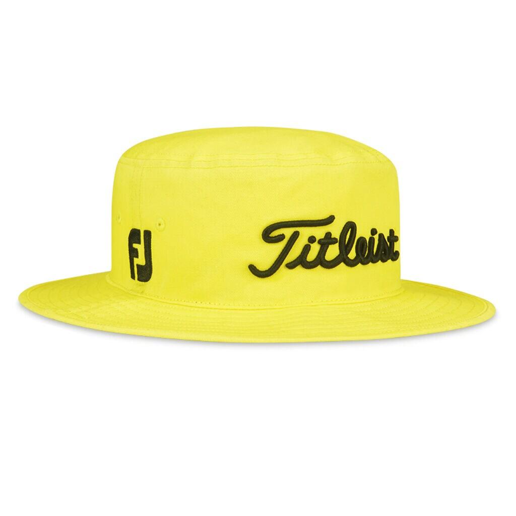 Shop Jarrod Lyle Yellow Titleist Bucket Hat  34c29a86e41