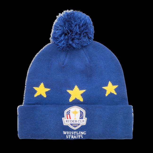 Ryder Cup Pom Pom Winter Hat Royal/Gold