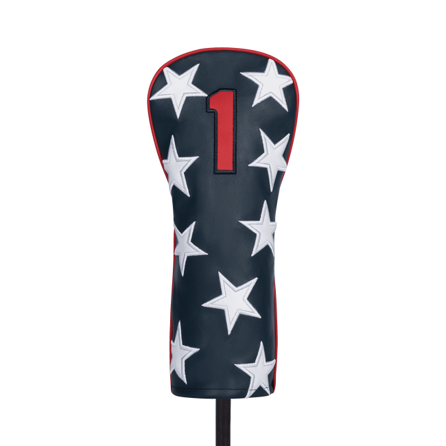 Stars & Stripes Leather Headcover