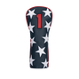 Stars and Stripes Leather Headcover