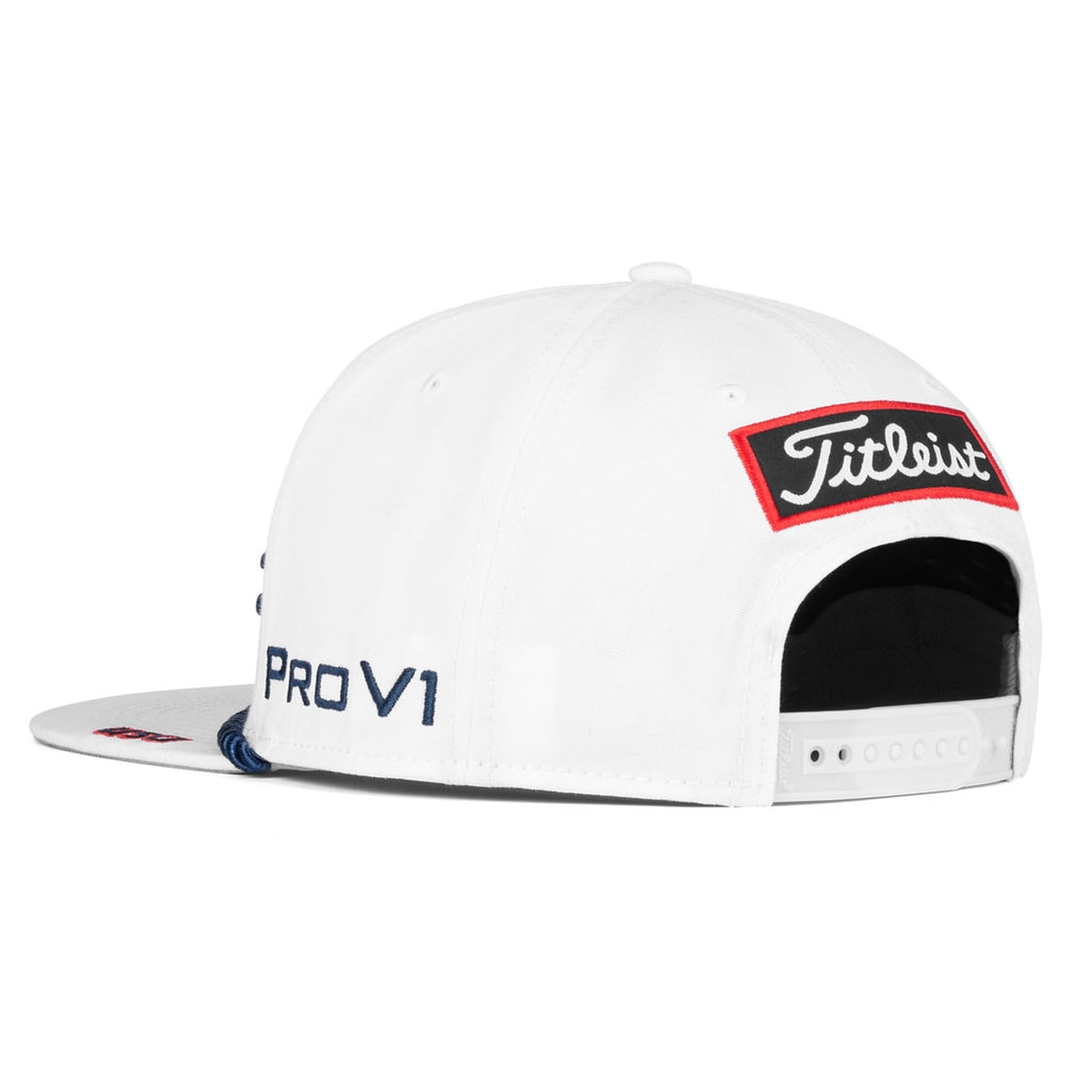 Stars and Stripes Tour Rope Flat Bill Hat