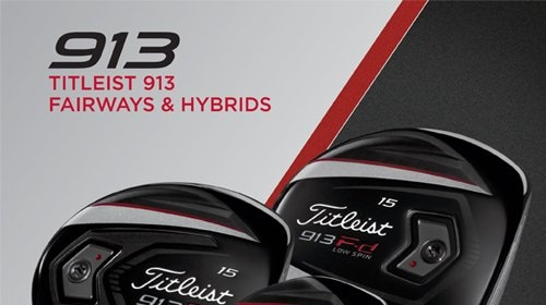 10 2017 Delivering More Performance From Both Turf And Tee The New Leist 913 Fairway Metals Hybrids Are Built For Distance Control With