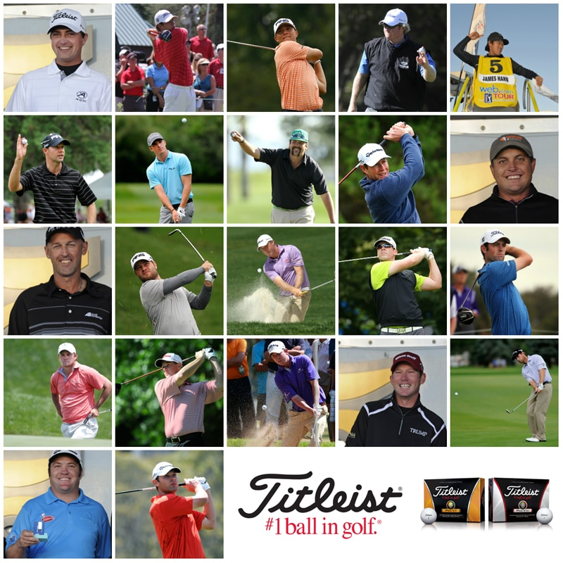 collage 5F00 webDotCom 5F00 25 5F00 v3 22 Players Trust Titleist to 2013 PGA Tour Promotions
