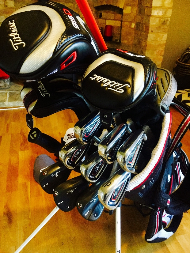 Newbie Bag Pic The Clubhouse Team Titleist