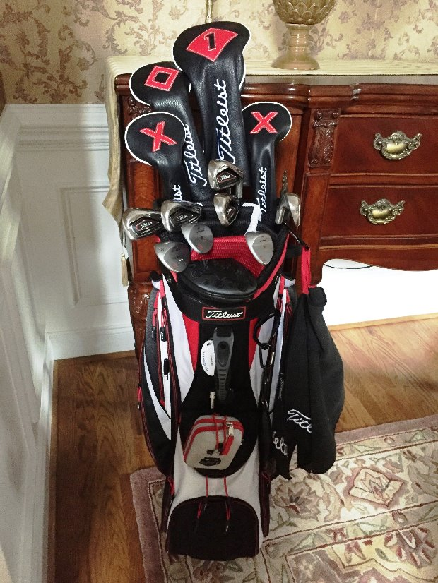 How To Configure The Clubs In A 14 Way 2017 Stand Bag