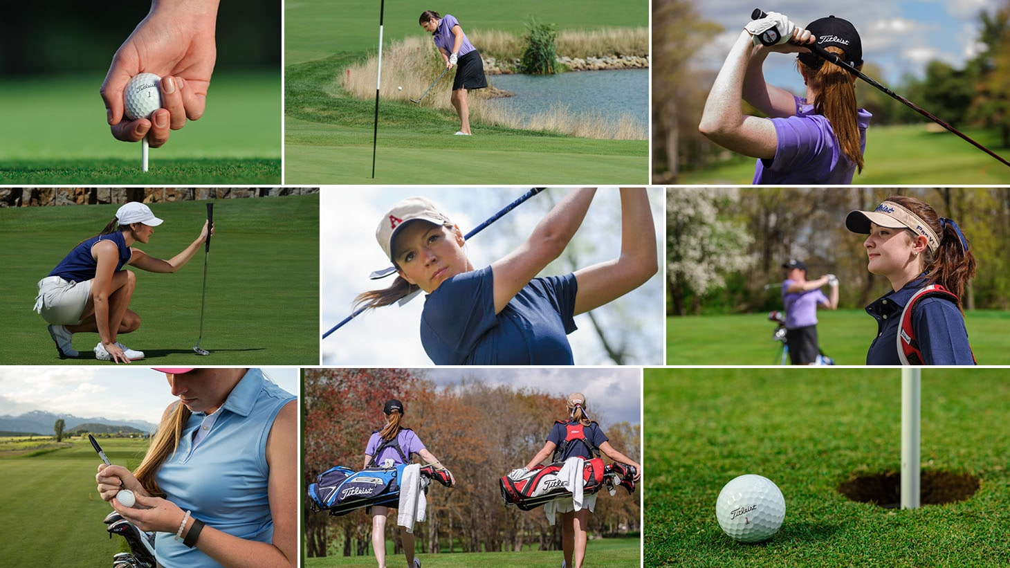 The #1 Ball at the 2017 NCAA Division 1 Women's Golf