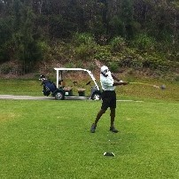 Need help with clearing my hips in the downswing any good