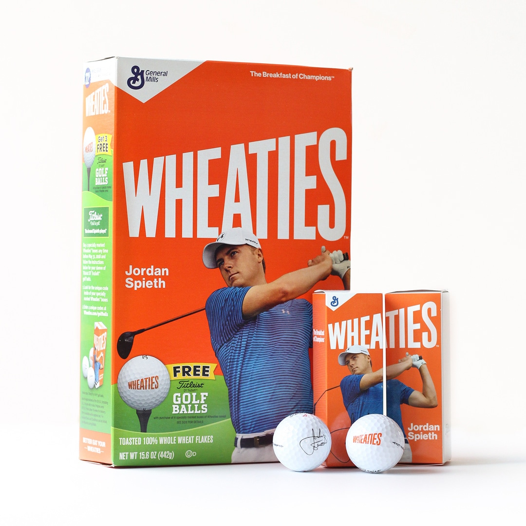 Look Who We Spotted On Wheaties Cereal Boxes!