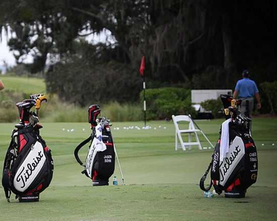 Titleist players are at Waialae Country Club for...