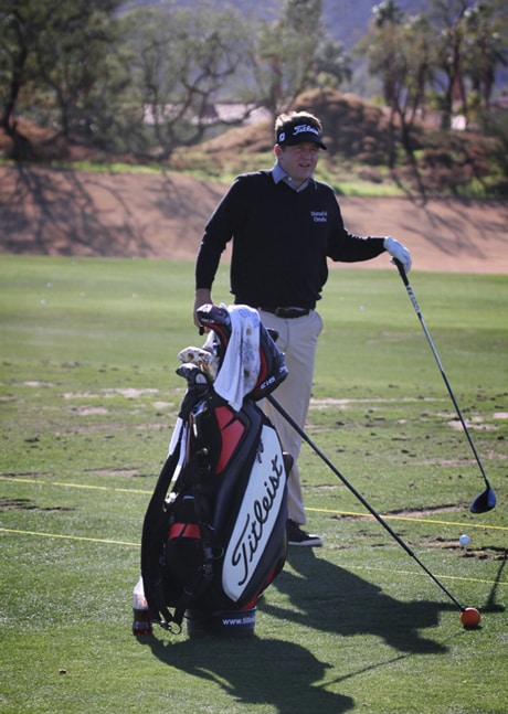 Jason Bohn on the range and looking forward to a...