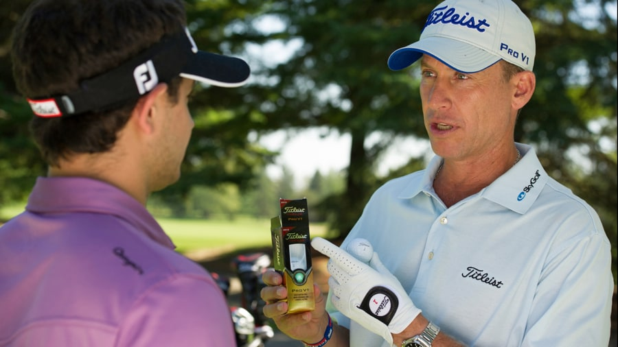 Titleist Advisory Staff Member Michael Breed (and...