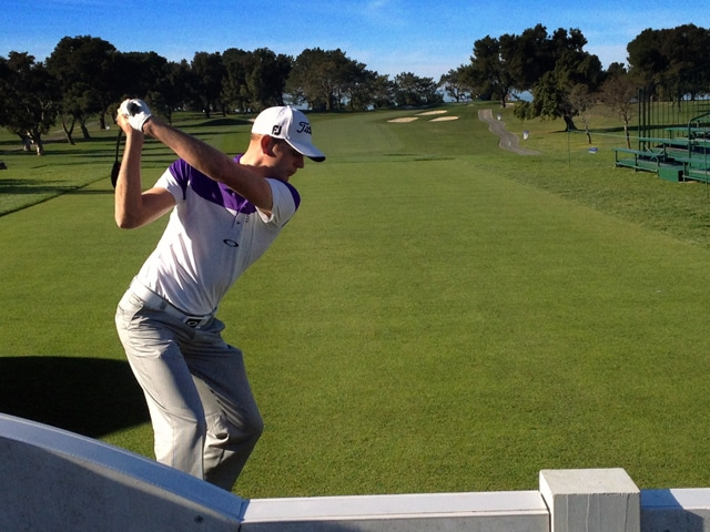 Slideshow 1 Ball At The 2013 Farmers Insurance Open