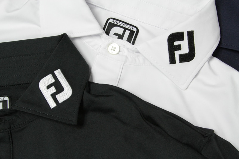 These new polos sport the iconic FJ logo