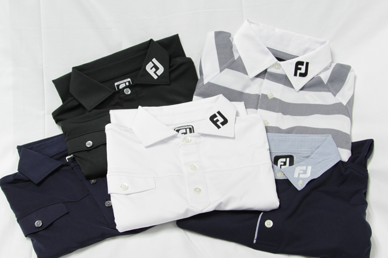 The new 2013 Team Titleist collection of FJ shirts...