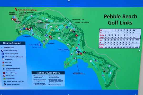 Welcome to Pebble Beach Golf Links for the...