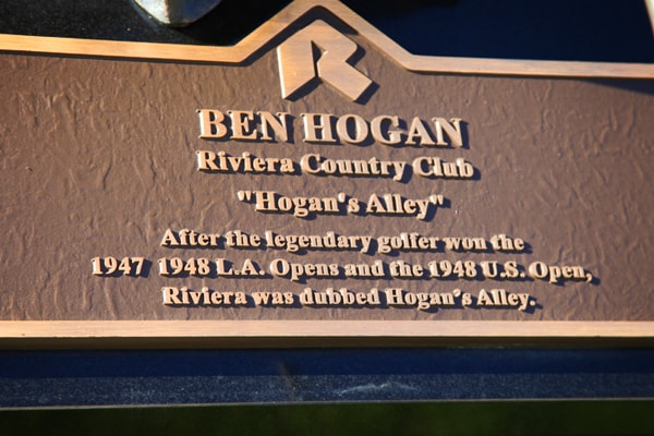 A little course history at Riviera.