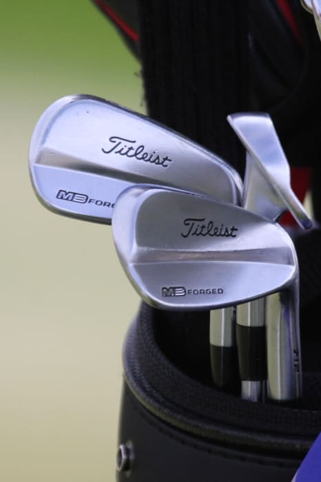 Matteo is gaming a blended set of irons, AP2 4-6...