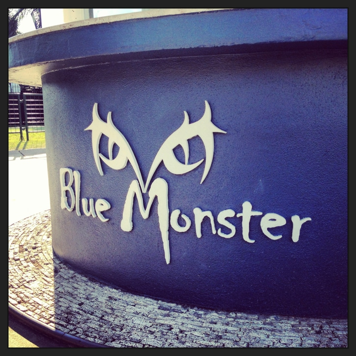 Day 2. Good morning to the Blue Monster.