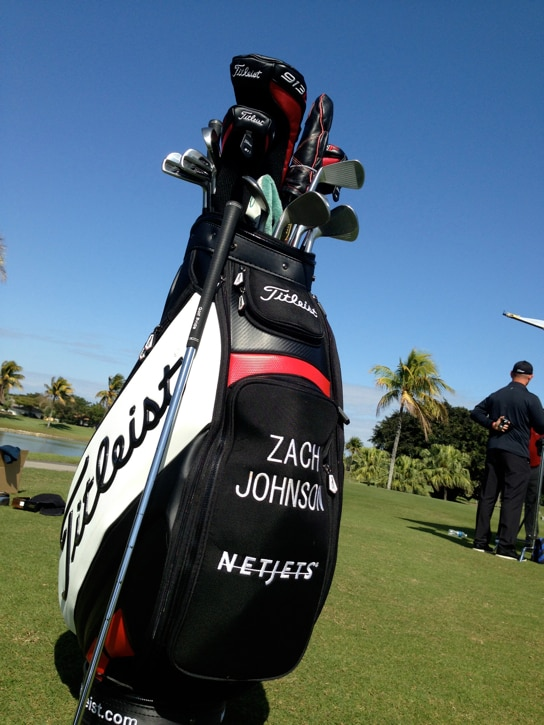 Next up, Zach Johnson.