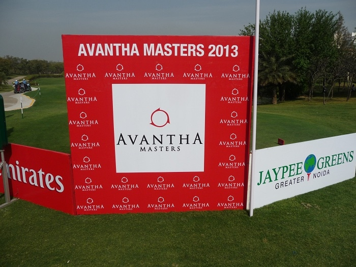 This week we are at The Avantha Masters at the...