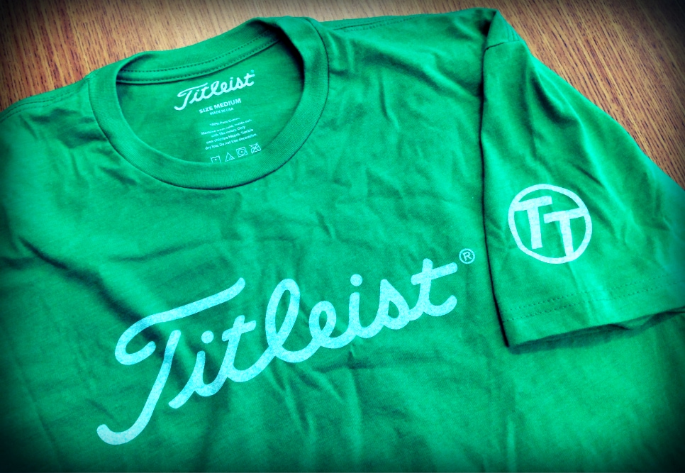 The latest exclusive Team Titleist T-Shirt.