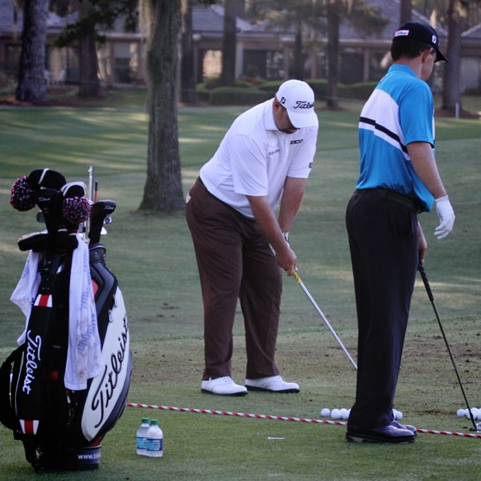 Brendon and Titleist Brand Ambassador Greg...
