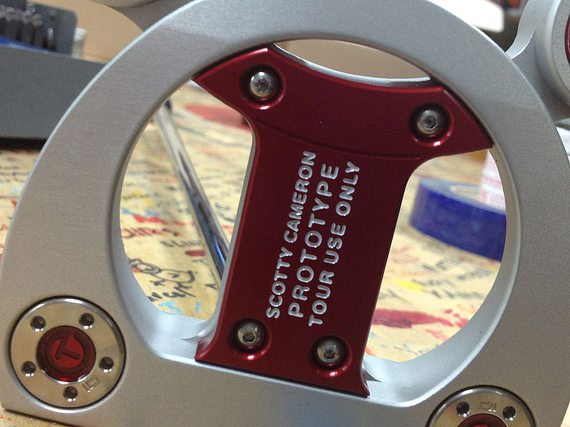 In the Putter Studio's Tour Dept., the Futura...