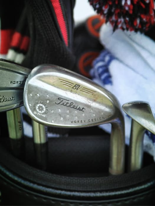 Check out the custom stamping on Darron's...