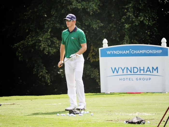 Titleist Brand Ambassador Morgan Hoffmann averages...