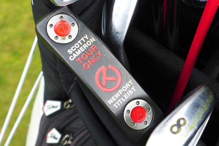 Martin Wiegele's tour issue Scotty Cameron.