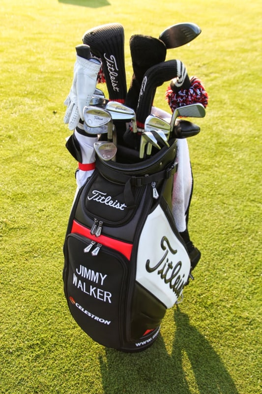 Titleist Brand Ambassador Jimmy Walker.