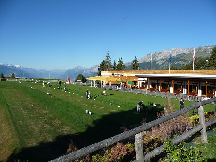 The Performance Center at Crans-sur-Sierre GC