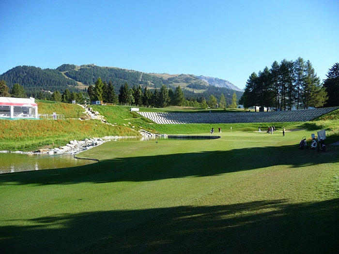 A look at the new 13th hole