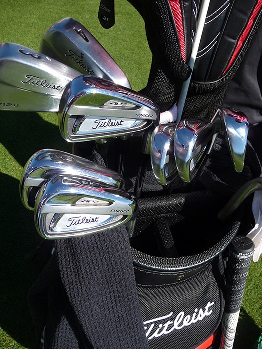 Michael Hoey's new 714 AP2 irons