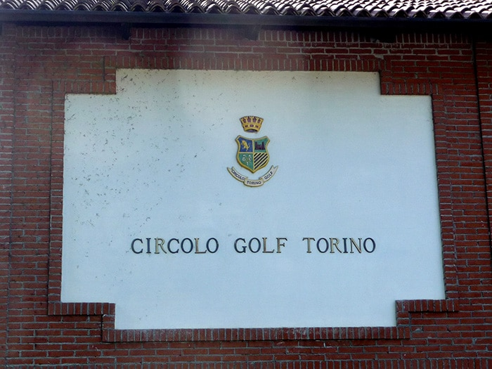 at the Golf Club Torino