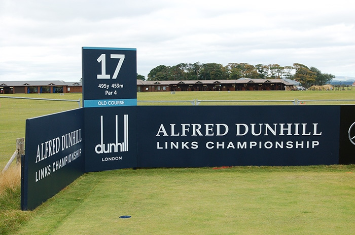 This week it's the Dunhill Links Championship