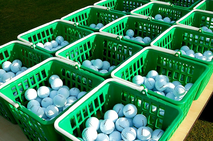 Pro V1's a plenty at the home of golf.