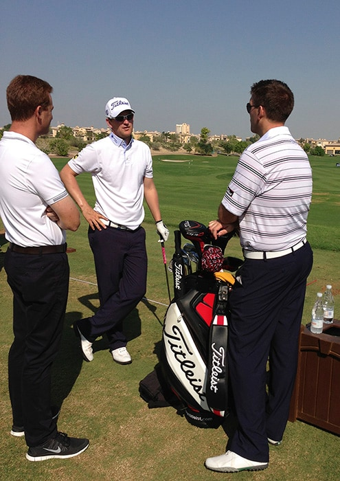 Bernd Wiesberger chats to Leadership Director,...