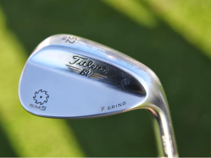 Scott gamed the new Vokey Spin Milled 5 wedges at...