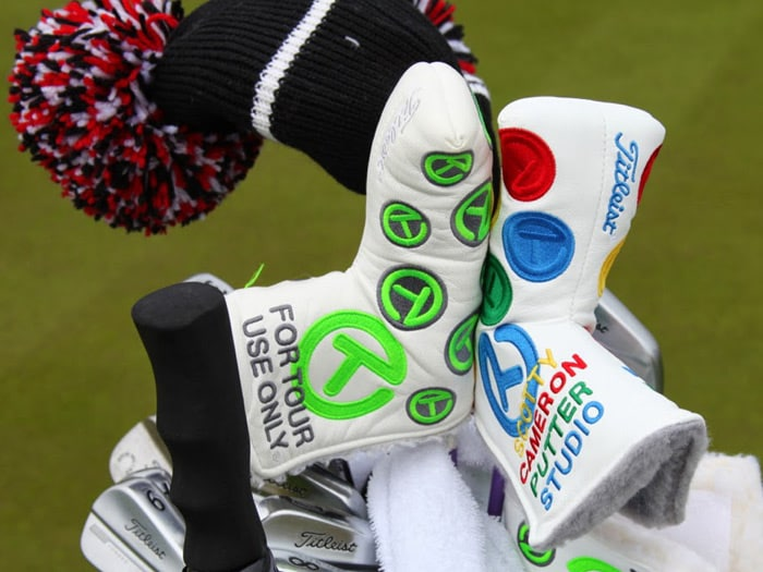 On Tour, Scotty Cameron headcovers are almost as...