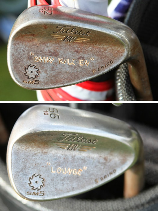 Two more Vokey SM5 wedges that have been...