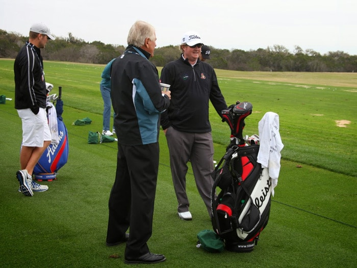 Bob also spent some time with Titleist Brand...