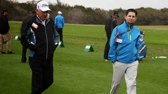 Bob Vokey and Vokey Tour Representative, Aaron...