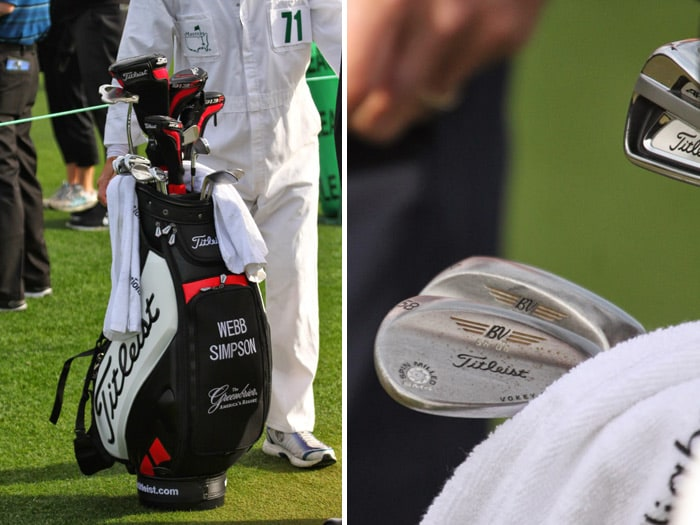 The bag and clubs trusted by Titleist Brand...