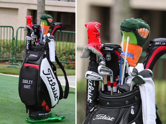 On The Range With 1 Ball In Golf At 2017 Rbc Herie Leist Club Custom Staff Bags Tour