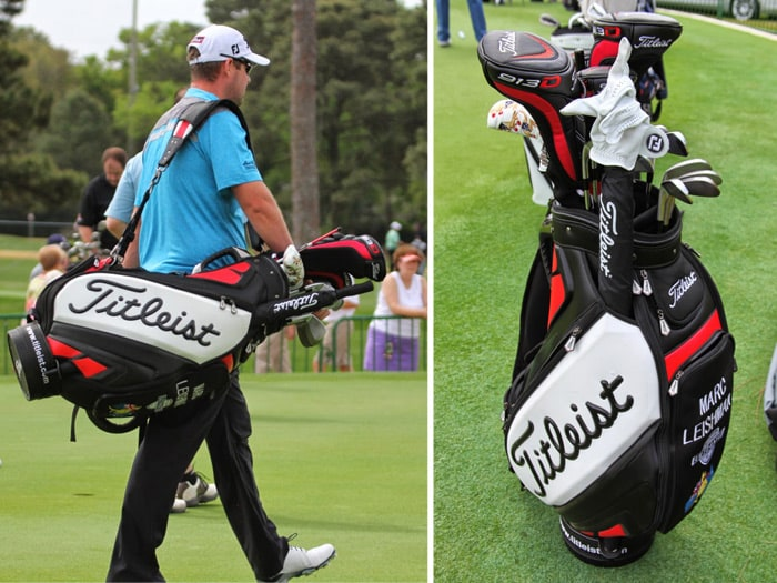 Titleist Brand Ambassador Marc Leishman at the...