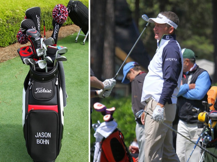Titleist Brand Ambassador Jason Bohn was in good...